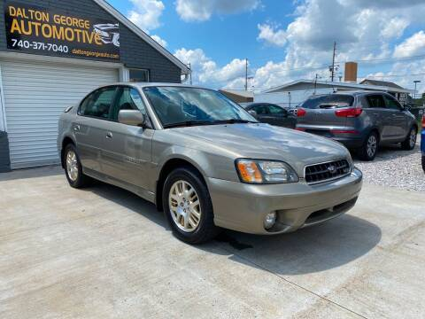 2003 Subaru Outback for sale at Dalton George Automotive in Marietta OH