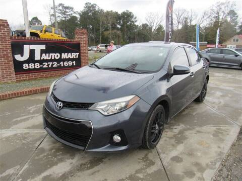 2015 Toyota Corolla for sale at J T Auto Group in Sanford NC