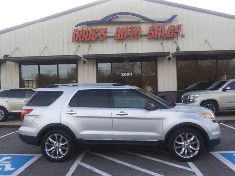 2012 Ford Explorer for sale at DOUG'S AUTO SALES INC in Pleasant View TN