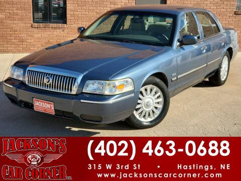 2009 Mercury Grand Marquis for sale at Jacksons Car Corner Inc in Hastings NE