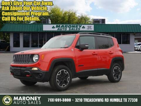 2015 Jeep Renegade for sale at Maroney Auto Sales in Humble TX