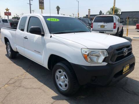 2014 Toyota Tacoma for sale at BEST DEAL MOTORS  INC. CARS AND TRUCKS FOR SALE in Sun Valley CA