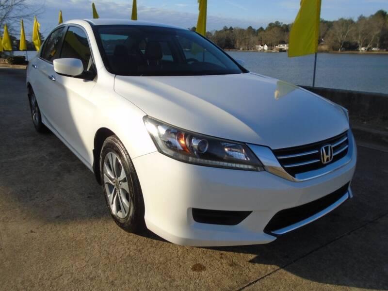 2015 Honda Accord for sale at Lake Carroll Auto Sales in Carrollton GA
