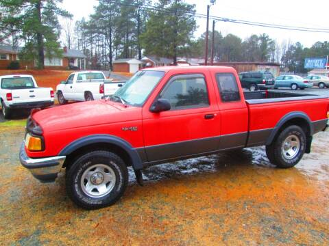 1993 Ford Ranger for sale at Wright's Auto Sales in Lancaster SC