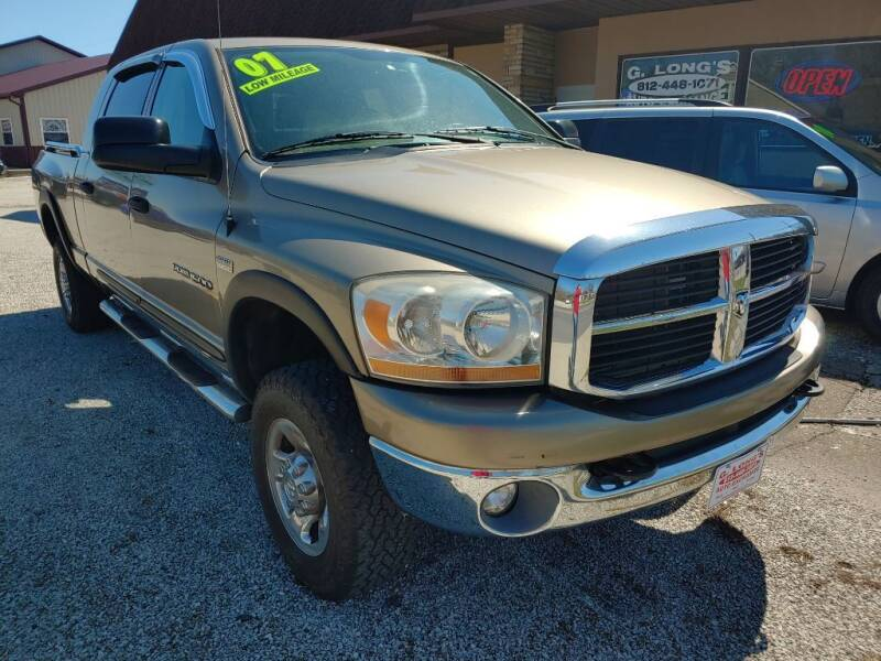 2007 Dodge Ram Pickup 1500 for sale at G LONG'S AUTO EXCHANGE in Brazil IN