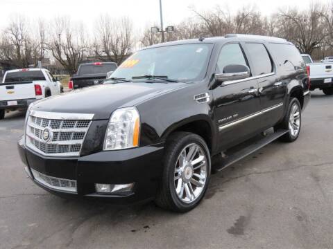 2012 Cadillac Escalade ESV for sale at Low Cost Cars North in Whitehall OH
