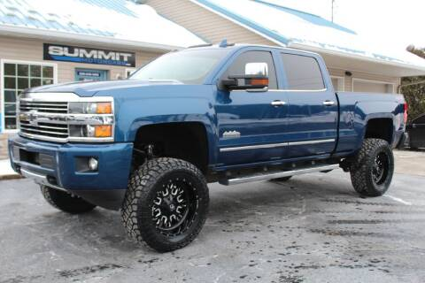 2016 Chevrolet Silverado 2500HD for sale at Summit Motorcars in Wooster OH