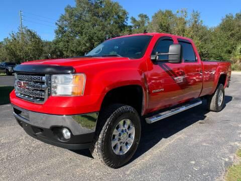 2012 GMC Sierra 2500HD for sale at Gator Truck Center of Ocala in Ocala FL
