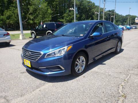 2017 Hyundai Sonata for sale at Auto 757 in Norfolk VA