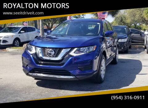 2020 Nissan Rogue for sale at ROYALTON MOTORS in Plantation FL