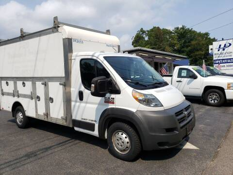 2014 RAM ProMaster Cutaway Chassis for sale at Highlands Auto Gallery in Braintree MA