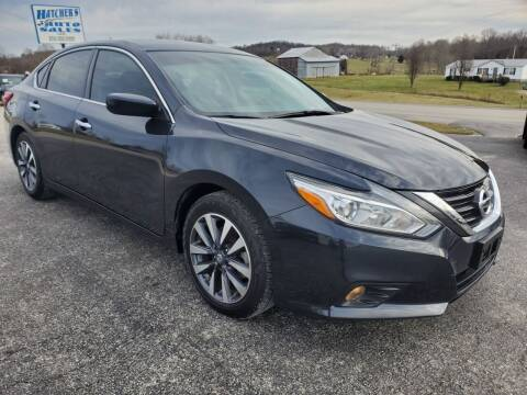 2017 Nissan Altima for sale at Hatcher's Auto Sales, LLC in Campbellsville KY