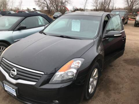 2007 Nissan Altima for sale at BARNES AUTO SALES in Mandan ND