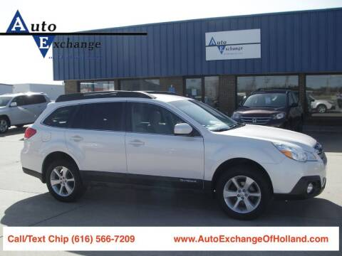 2013 Subaru Outback for sale at Auto Exchange Of Holland in Holland MI