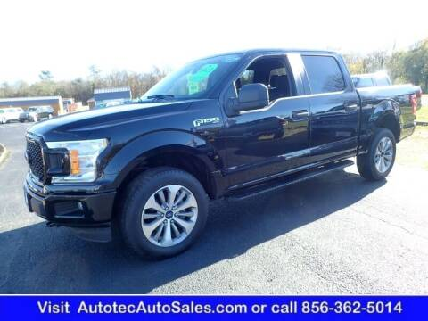 2018 Ford F-150 for sale at Autotec Auto Sales in Vineland NJ