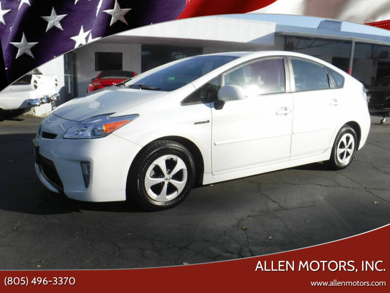 2015 Toyota Prius for sale at Allen Motors, Inc. in Thousand Oaks CA