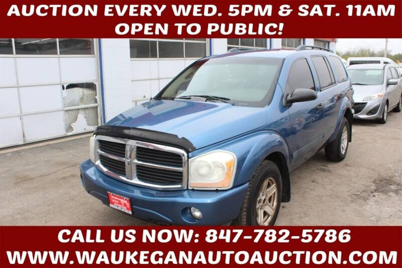 2004 Dodge Durango for sale at Waukegan Auto Auction in Waukegan IL