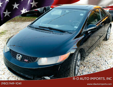 2010 Honda Civic for sale at R-D AUTO IMPORTS, Inc in Charlotte NC