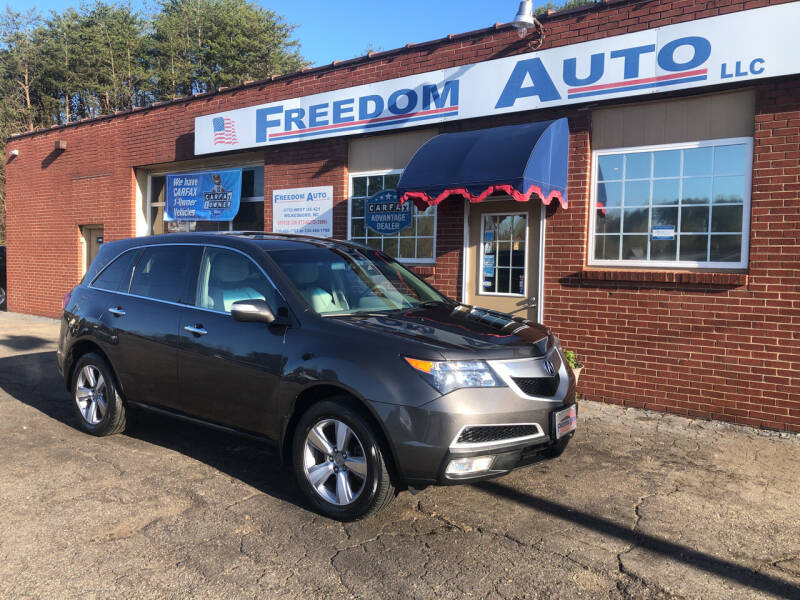 2012 Acura MDX for sale at FREEDOM AUTO LLC in Wilkesboro NC