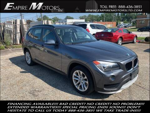 2015 BMW X1 for sale at Empire Motors LTD in Cleveland OH