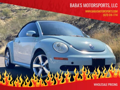 2010 Volkswagen New Beetle Convertible for sale at Baba's Motorsports, LLC in Phoenix AZ
