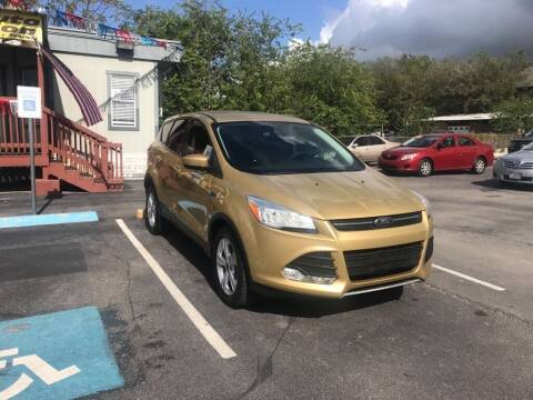 2014 Ford Escape for sale at Auto Solution in San Antonio TX