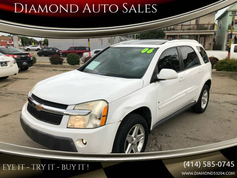 2006 Chevrolet Equinox for sale at Diamond Auto Sales in Milwaukee WI
