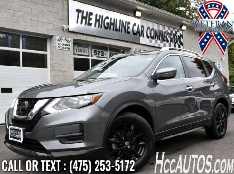 2019 Nissan Rogue for sale at The Highline Car Connection in Waterbury CT