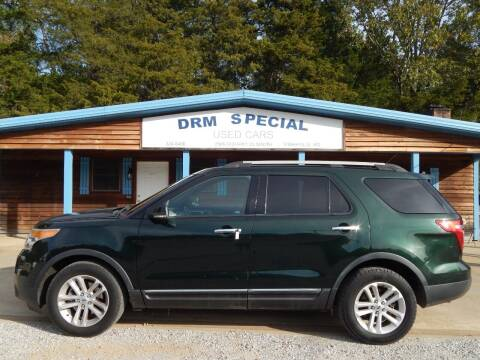 2013 Ford Explorer for sale at DRM Special Used Cars in Starkville MS