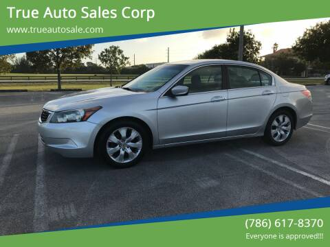 2009 Honda Accord for sale at True Auto Sales Corp in Miami FL