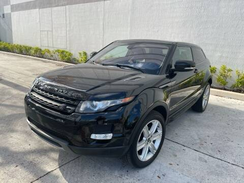 2013 Land Rover Range Rover Evoque Coupe for sale at Auto Beast in Fort Lauderdale FL
