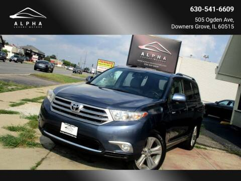 2013 Toyota Highlander for sale at Alpha Luxury Motors in Downers Grove IL