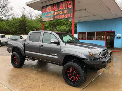 2014 Toyota Tacoma for sale at Global Auto Sales and Service in Nashville TN