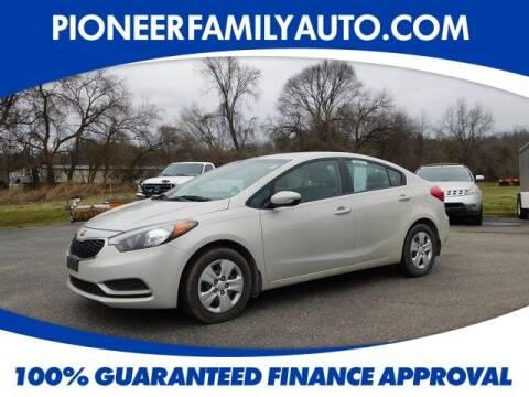 2014 Kia Forte for sale at Pioneer Family auto in Marietta OH