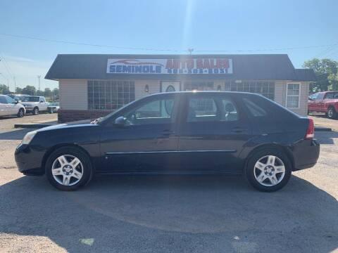 2006 Chevrolet Malibu Maxx for sale at Seminole Auto Sales in Seminole OK