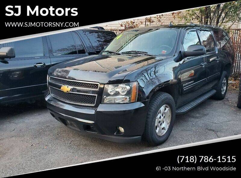 2014 Chevrolet Suburban for sale at Shah Jee Motors in Woodside NY