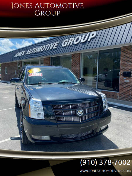 2012 Cadillac Escalade ESV for sale at Jones Automotive Group in Jacksonville NC
