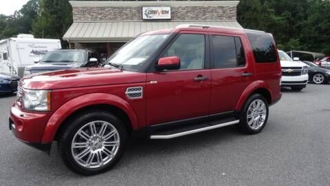 2011 Land Rover LR4 for sale at Driven Pre-Owned in Lenoir NC
