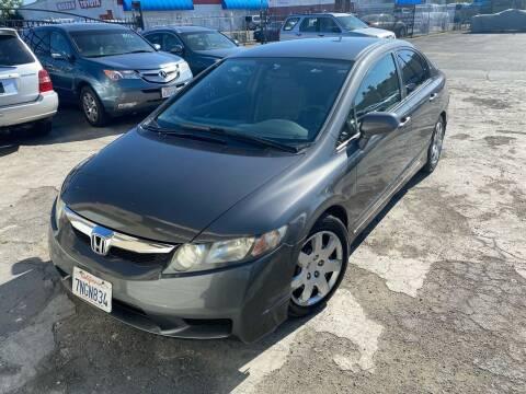 2010 Honda Civic for sale at 101 Auto Sales in Sacramento CA