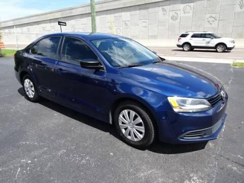 2013 Volkswagen Jetta for sale at DONNY MILLS AUTO SALES in Largo FL