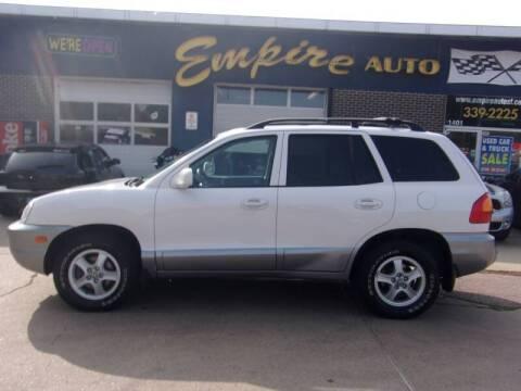 2004 Hyundai Santa Fe for sale at Empire Auto Sales in Sioux Falls SD