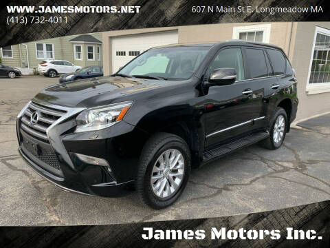 2018 Lexus GX 460 for sale at James Motors Inc. in East Longmeadow MA