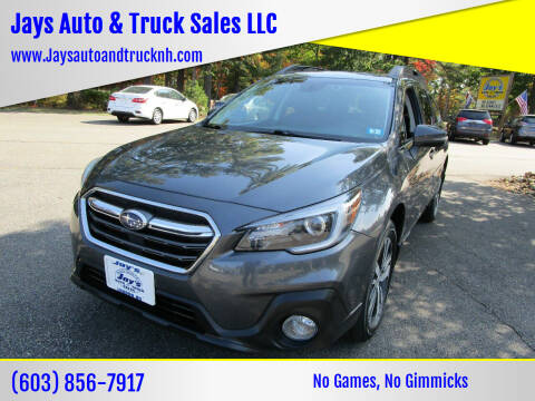 2018 Subaru Outback for sale at Jays Auto & Truck Sales LLC in Loudon NH