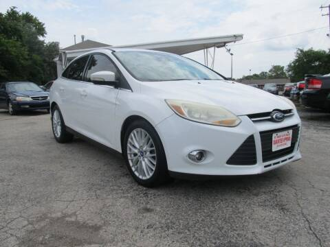 2012 Ford Focus for sale at St. Mary Auto Sales in Hilliard OH