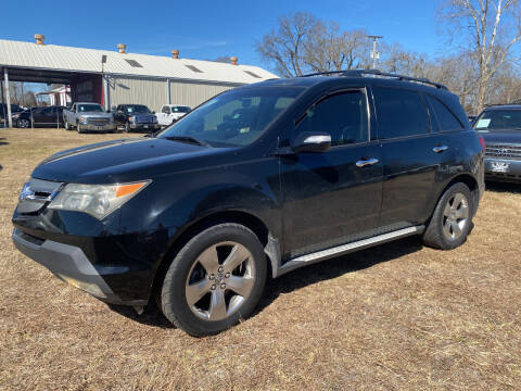 2007 Acura MDX for sale at M & M Motors in Angleton TX