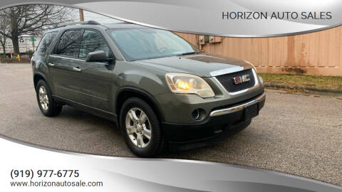 2011 GMC Acadia for sale at Horizon Auto Sales in Raleigh NC