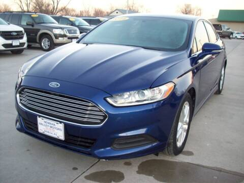 2014 Ford Fusion for sale at Nemaha Valley Motors in Seneca KS