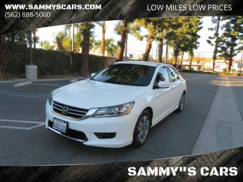 "2013 Honda Accord for sale at SAMMY""S CARS in Bellflower CA"