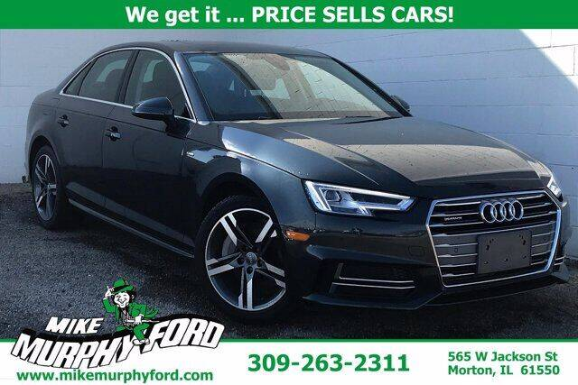 2018 Audi A4 for sale at Mike Murphy Ford in Morton IL