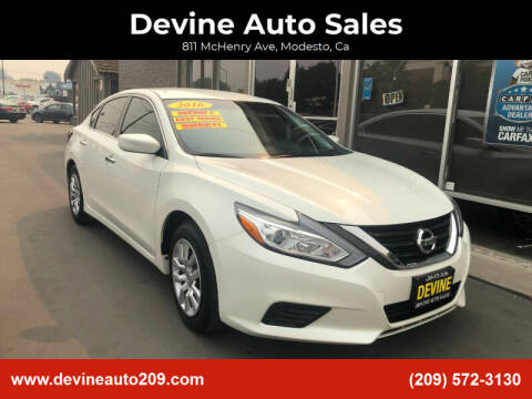 2016 Nissan Altima for sale at Devine Auto Sales in Modesto CA